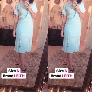 Cute Blue midi dress